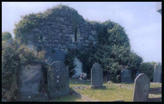 The old parish church of Ballywalter