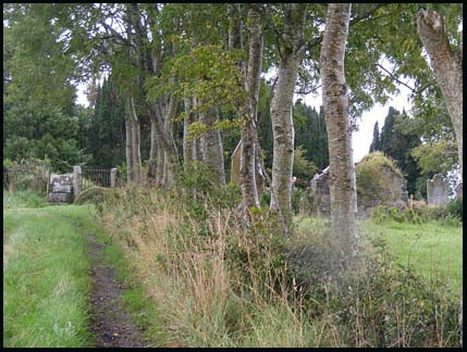 old Killaney graveyard