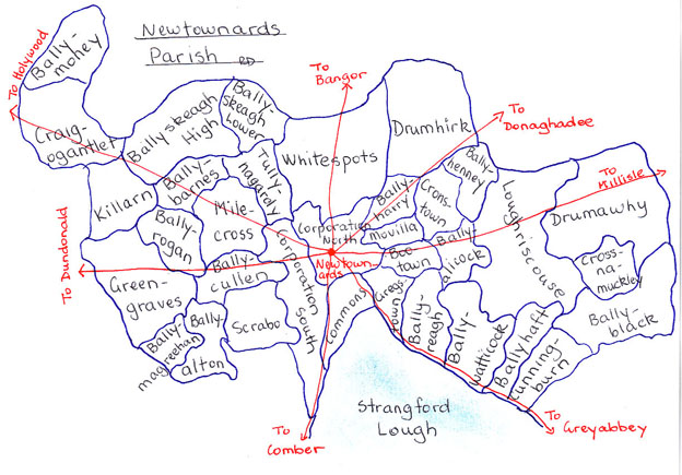 Newtownards townlands