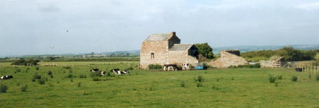 Crook Farm near Cockersand Abbey