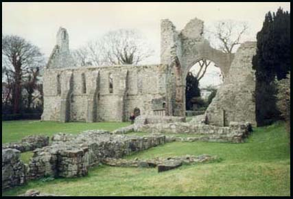 The ruins of Grey Abbey
