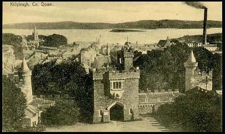 View of Killyleagh town