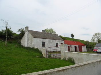 Dougherty's old house in Drumnaconnor